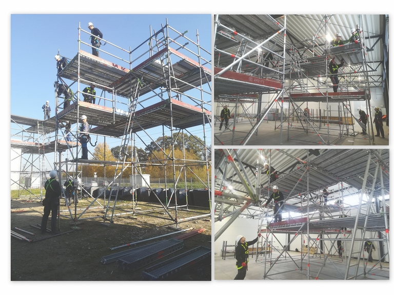 Scaffolder training program